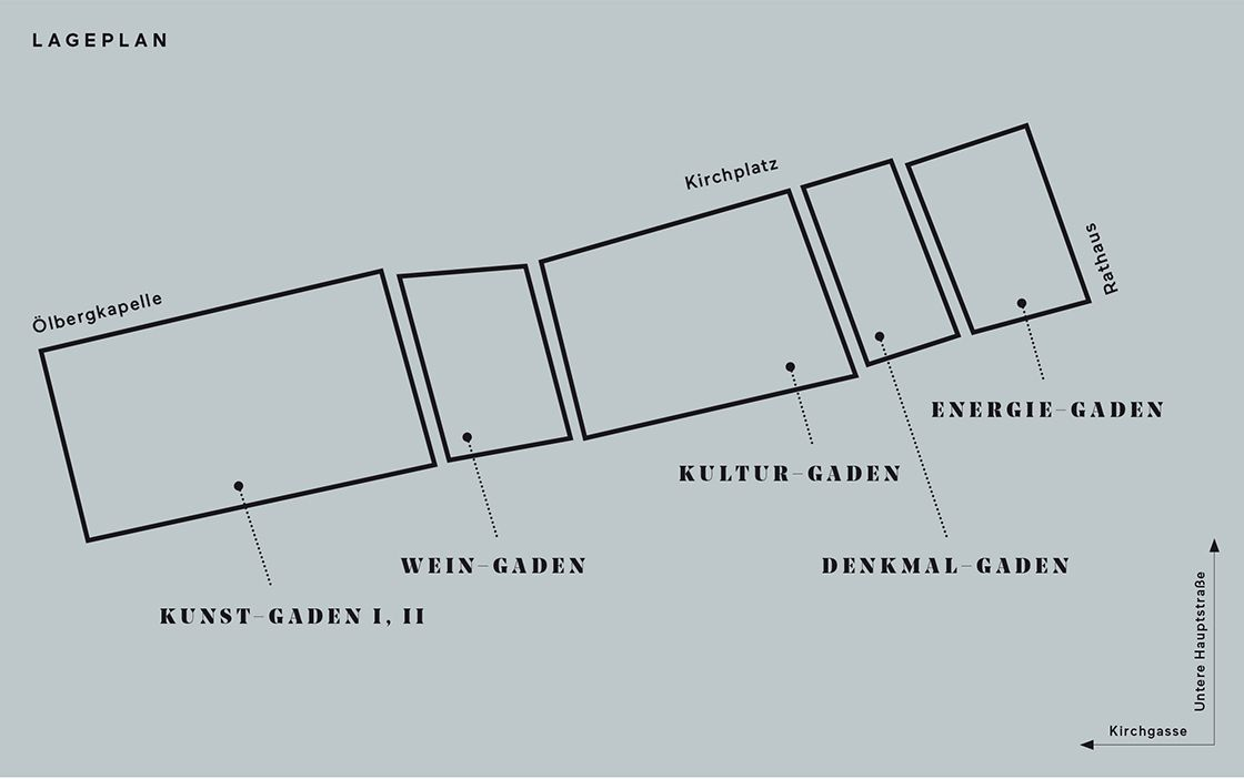 Lageplan Weinkulturgaden