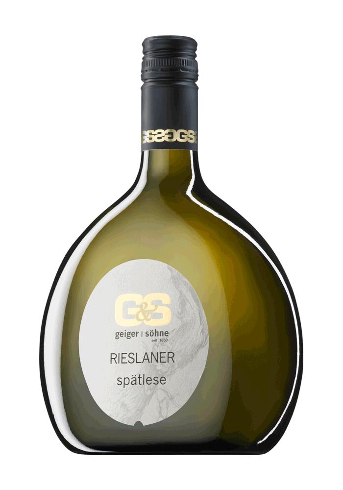 Rieslaner Weißwein Spätlese Bocksbeutel Geiger und Söhne
