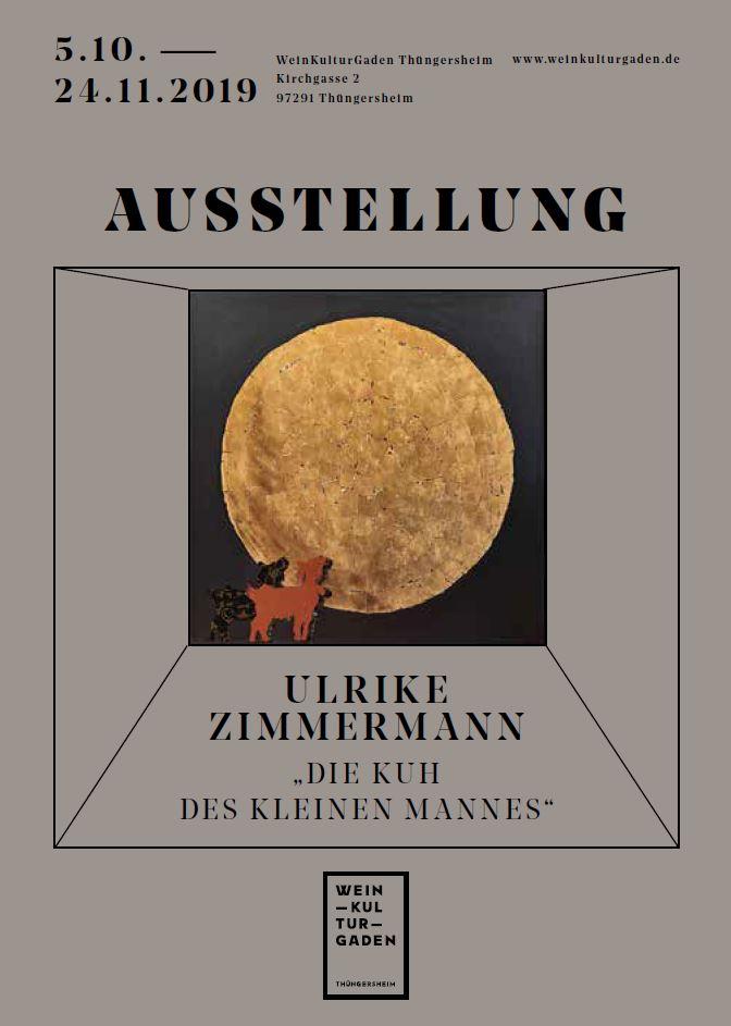 Ausstellung - Die Kuh des kleinen Mannes (Ulrike Zimmermann)